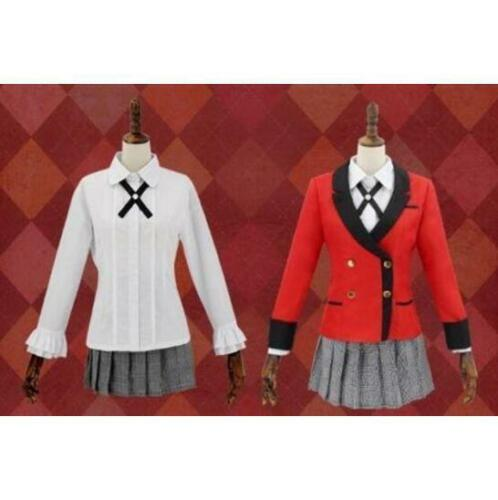 Kakegurui Yumeko Jabami School Girls Uniform Full Set Cosplay Dress