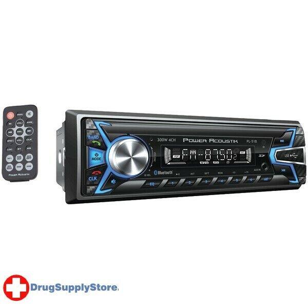 PE Single-DIN In-Dash Digital Audio Receiver (Bluetooth(R), Detachable Face)