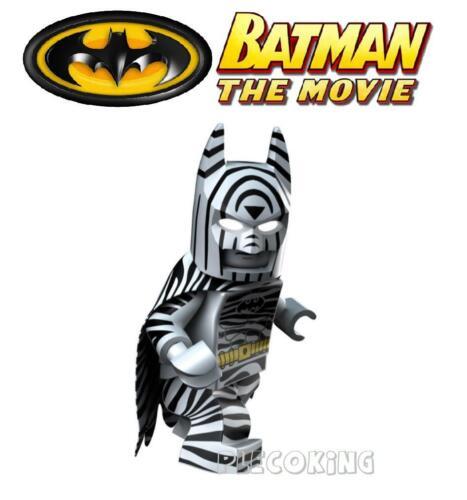 C8 NUOVO BATMAN MOVIE-Zebra Batman-si adatta figura LEGO