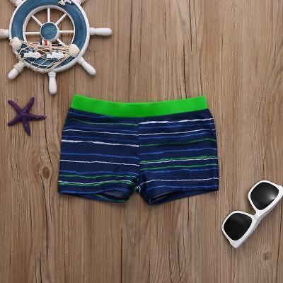 Toddler Kid Boys Streak Striped Stretch Beach Swimsuit Swimwear Trunks Shorts