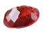 thumbnail 8 - 7.35 Ct Natural Fire Orange Sapphire CERTIFIED Oval Sparkling Tanzania Gemstone