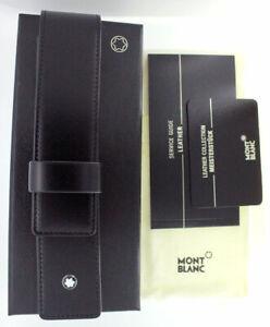 MONTBLANC-New-in-Box-Stift-Leder-Tasche-Made-in-Germany-unbenutzt-neuwertig