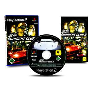 Playstation-2-PS2-Jeu-Midnight-Club-II-2-Emballage-D-039-Origine-avec-Manuel