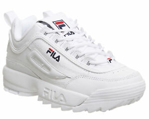 Details about White/Black FILA Disruptor Women's Fashion Athletic Shoes Sneakers EU Size 36-44