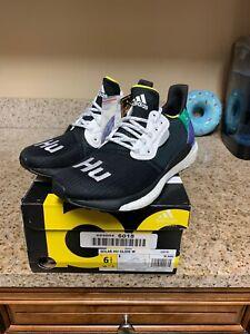 NIB-Adidas-Originals-x-Pharrell-Williams-Solar-HU-Glide-Boost-Black-New-W-6-5