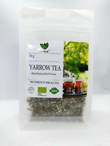 Woman-039-s-Health-100-ORGANIC-YARROW-Tea-Loose-Leaf-Infusion-Achillea-millefolium