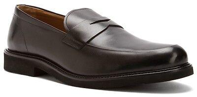 Florsheim Men's Gallo Penny Loafer Slip On Leather Dress Shoes Black 13194