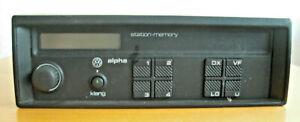 VW Autoradio Alpha M 095 Blaupunkt 357035156A Station Memory