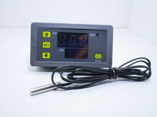 sonda 55 120 ℃ Termostato digitale lcd w3230 AC 220v 1500w per temperature