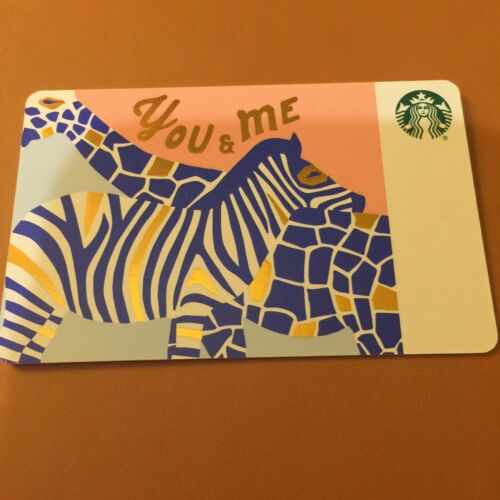 no value, new Starbucks 2018 Recycled Ten You /& Me Gift Card