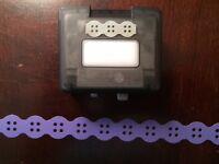 Creative Memories Button Chain Border Maker Cartridge For Omfl