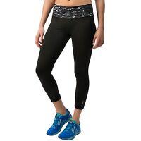 Reebok Women's Black Remaster Print Athletic Capri Pants Size Xs, $60