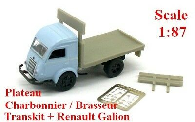 Base + transkit - Norev Renault Galion 2,5t camion fourgon Ho Echelle 1//87