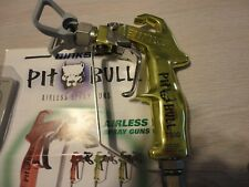 Binks Pit Bull Airless Spray Gun With 435 Tip And Guard