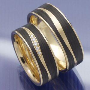 Ausgefallene Eheringe Trauringe Hochzeitsringe Aus 585 Apricotgold