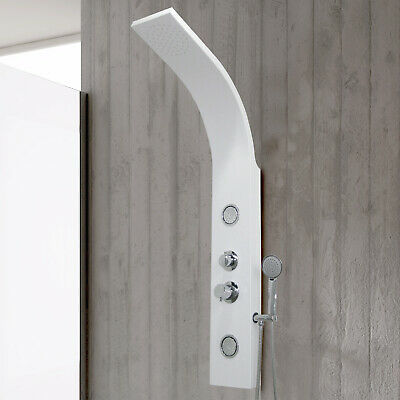 Pannello doccia idromassaggio colonna design con getti orientabili idroterapia