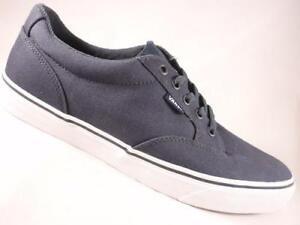 a1c88cd71d41 VANS Winston Dark Blue+White Men s Athletic Shoes Skate Casual ...