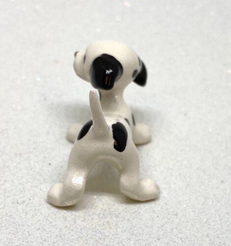 Hagen Renaker miniature made in America Dalmation Puppy standing