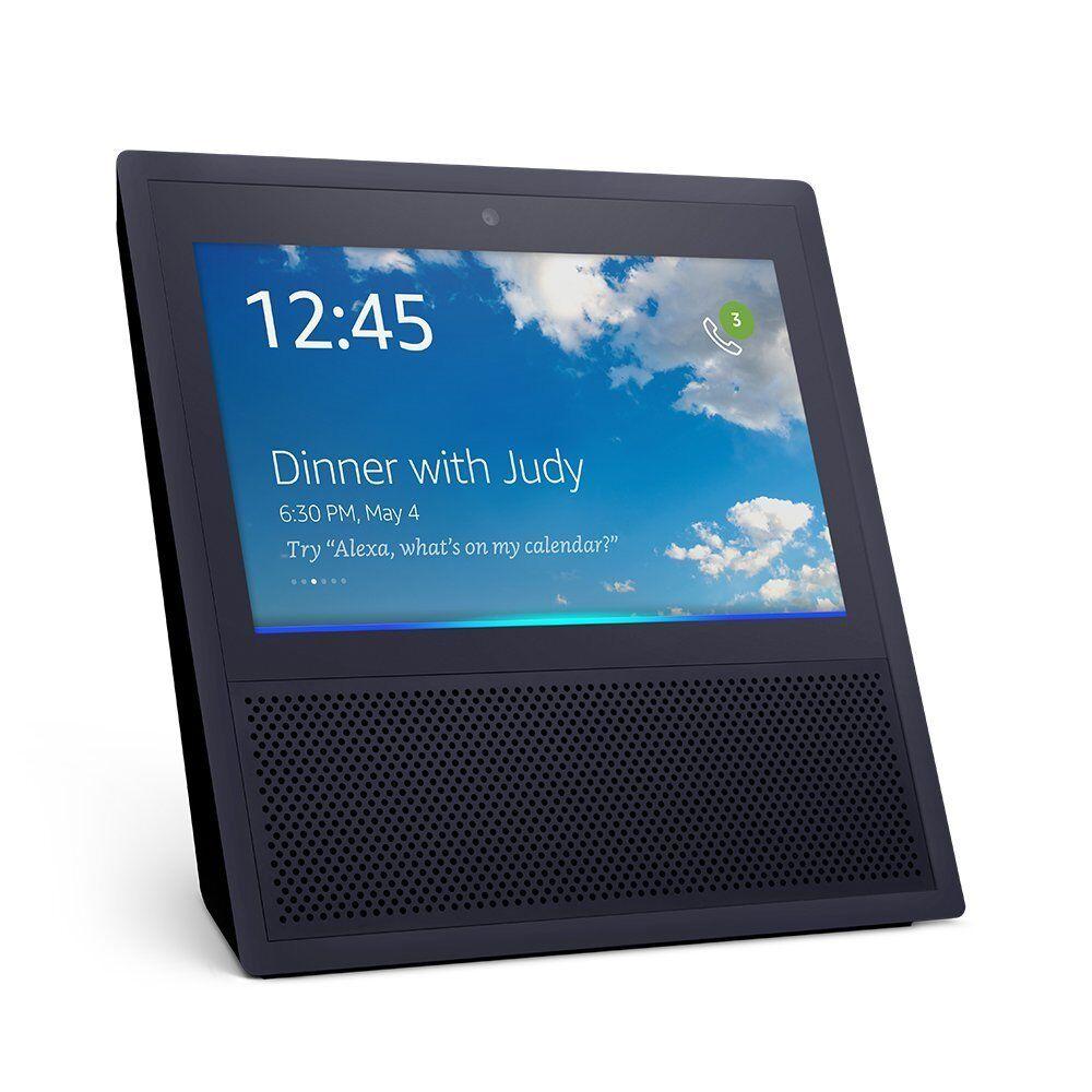 Neu  Amazon Echo Show Alexa Smart Home Control mit Video (Schwarz)