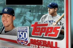 2019-Topps-Baseball-Series-One-MLB-150th-Anniversary-Cards-Pick-From-List-1-250