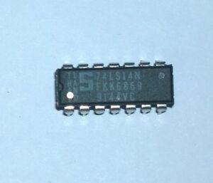 2 Circuits Integres - 74ls14n - Hex Inverters With Schmitt Trigger - Signetics Activation De La Circulation Sanguine Et Renforcement Des Nerfs Et Des Os