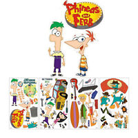 Disney Phineas And Ferb 37 Wall Decals Stickers Decorative Stickups
