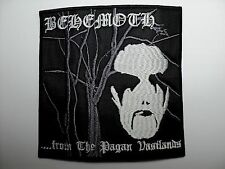 BEHEMOTH FROM THE PAGAN VASTLANDS  EMBROIDERED PATCH