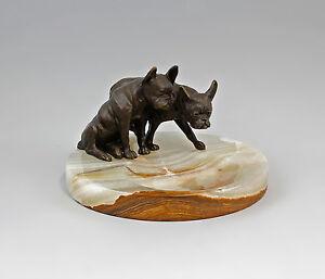 Bronze-Figur-Onyx-Schale-mit-franzoesischen-Bulldogen-9973022