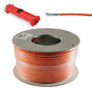100-m-Cat-7-Verlegekabel-Netzwerk-Kabel-Kupfer-LAN-Abisolierer-Neu