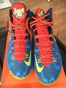 6688c4c02085 Nike KD V 5 Christmas 9.5 Kevin Durant Christmas 5s Golden State ...