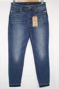 New-Lucky-Brand-Women-039-s-Ava-Mid-Rise-Raw-Skinny-Stretch-6-28-PRRH-Wash-7WP1931