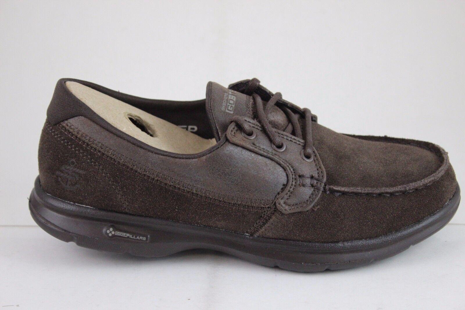 Skechers Mujer Go Step-Stylish 14445 Chocolate Goga Max Plantilla Nuevo