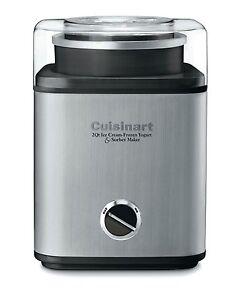 Cuisinart-CIM-60PC-Stainless-2-Qt-Automatic-Frozen-Yogurt-Sorbet-Ice-Cream-Maker