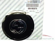 Fiat 500 500C original Felgendeckel Gucci black schwarz chrom 51903270 NEU