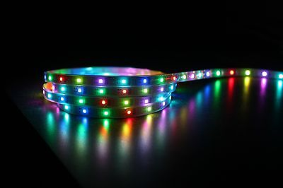 WS2801 Addressable RGB LEDS IP65 x50 SMRT Pixels