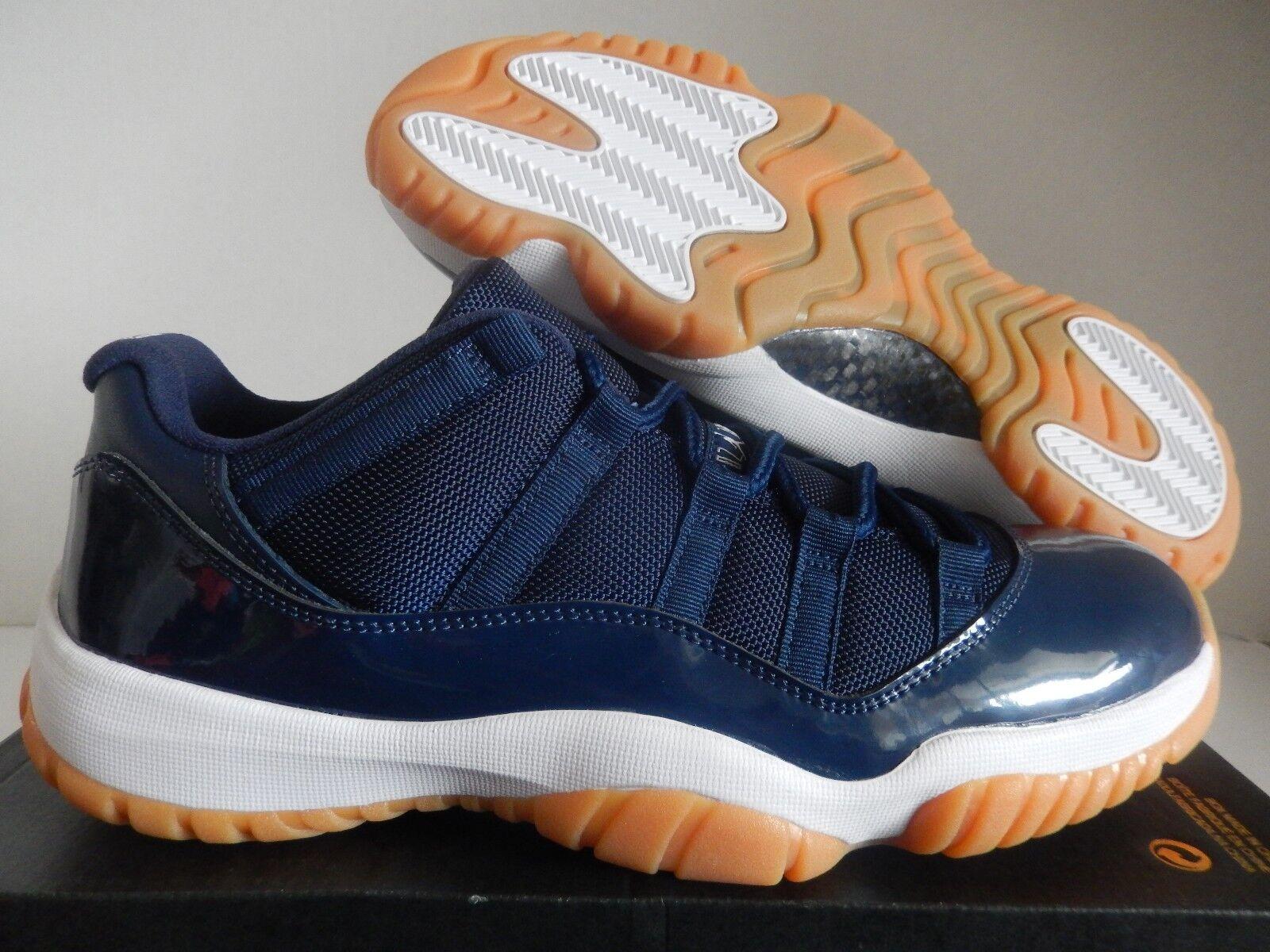 Nike marino Air Jordan 11 Retro Low azul marino Nike noche AzulGoma Marrón [528895405] 530482