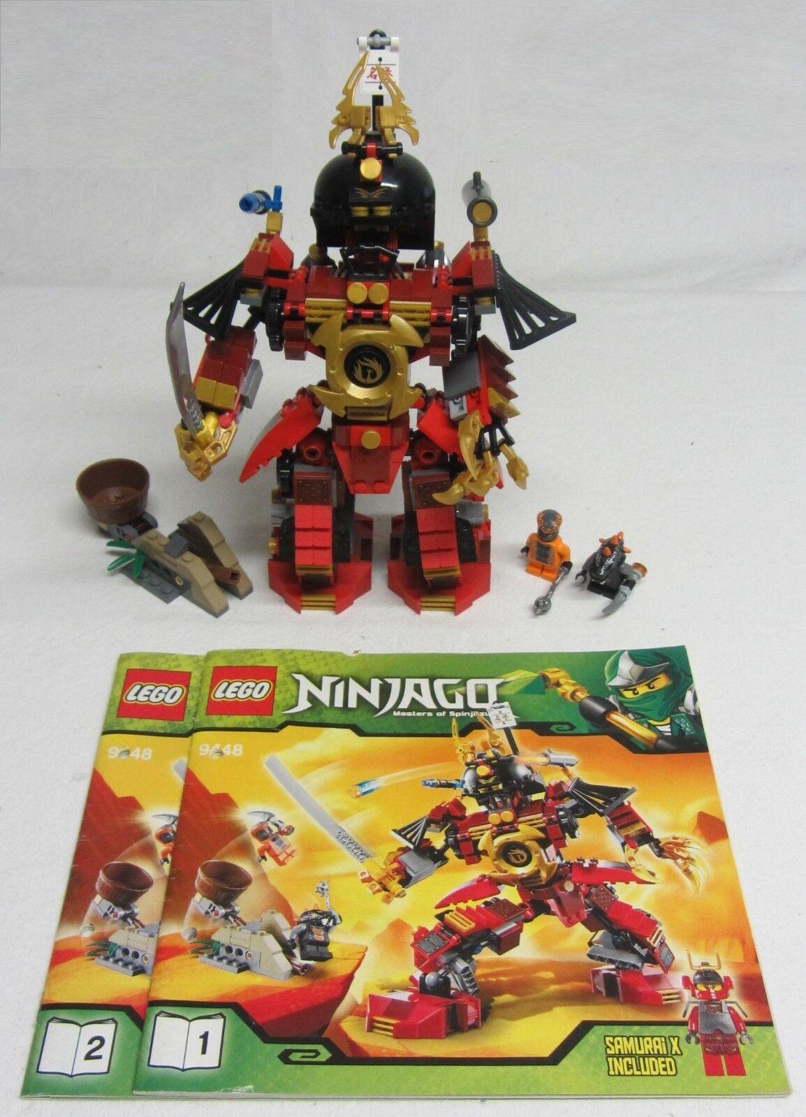 LEGO NINJAGO Nr:9448 (sehr guter Zustand - vollständig) - ohne OVP