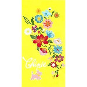 Serviette-de-plage-Drap-de-bain-Chipie-Fleurs-034-Frivole-jaune-034-beach-towel-coton