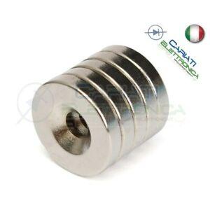 10-Pezzi-CALAMITE-MAGNETI-NEODIMIO-10x3-mm-POTENTI-FIMO-CERAMICA-BOMBONIERE