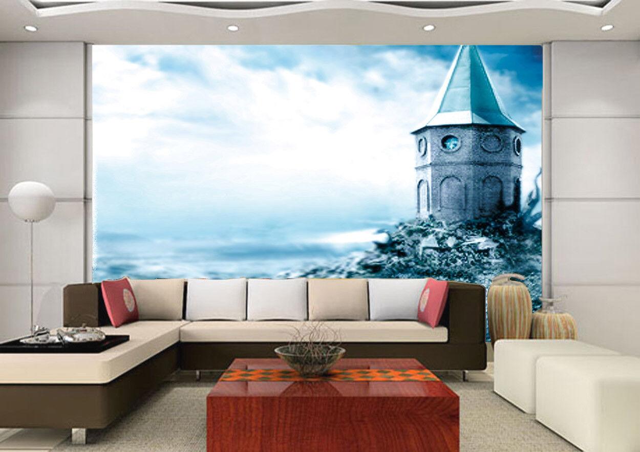 3D Beach Magic Hut 42 Wall Paper Wall Print Decal Wall Deco Indoor Mural Summer