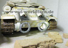 Natodraht-Rollen / Edlen Look 1:16 / 1:18 für Henglong/Tamiya/D-Worldtech Panzer