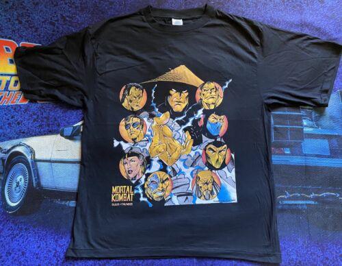 Vintage 90's Mortal Kombat Video Game T-Shirt Size