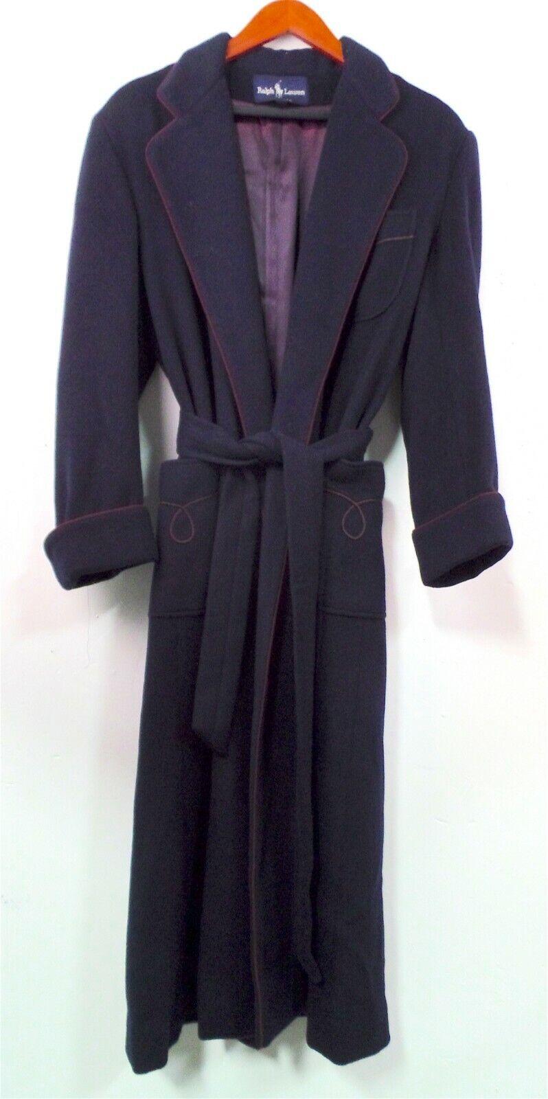 Vintage Ralph Lauren Women's Maxi Coat , Sz 4 , %… - image 1