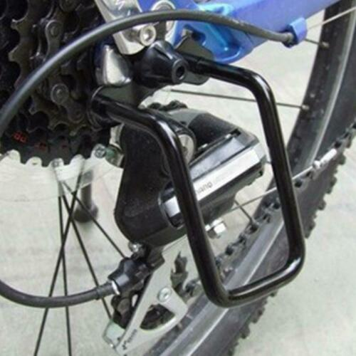 Bicycle Rear Derailleur Chain Guard Gear Protector Steel Frame Bike Accessory