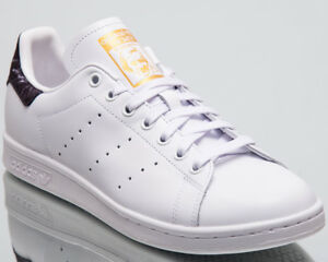 6f89d51a85b8 adidas Originals Stan Smith Men New White Black Gold Lifestyle ...