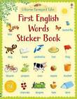 Farmyard Tales First English Words Sticker Book by Heather Amery (Paperback, 2015)