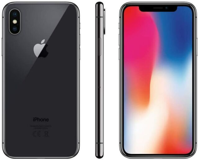 Apple iPhone X - 64 Go-Space Gris (Sans Simlock) a1901-état neuf