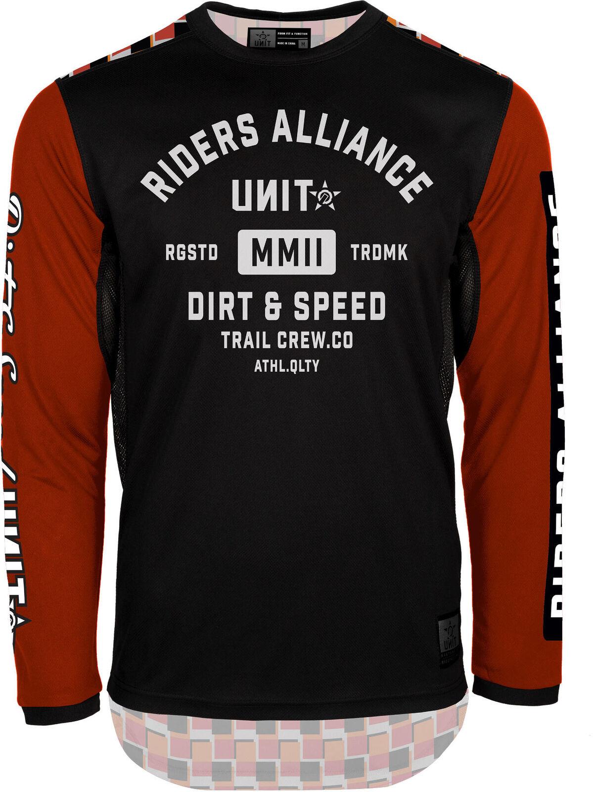 Unit Alliance LS MTB Bike Jersey orange 2019