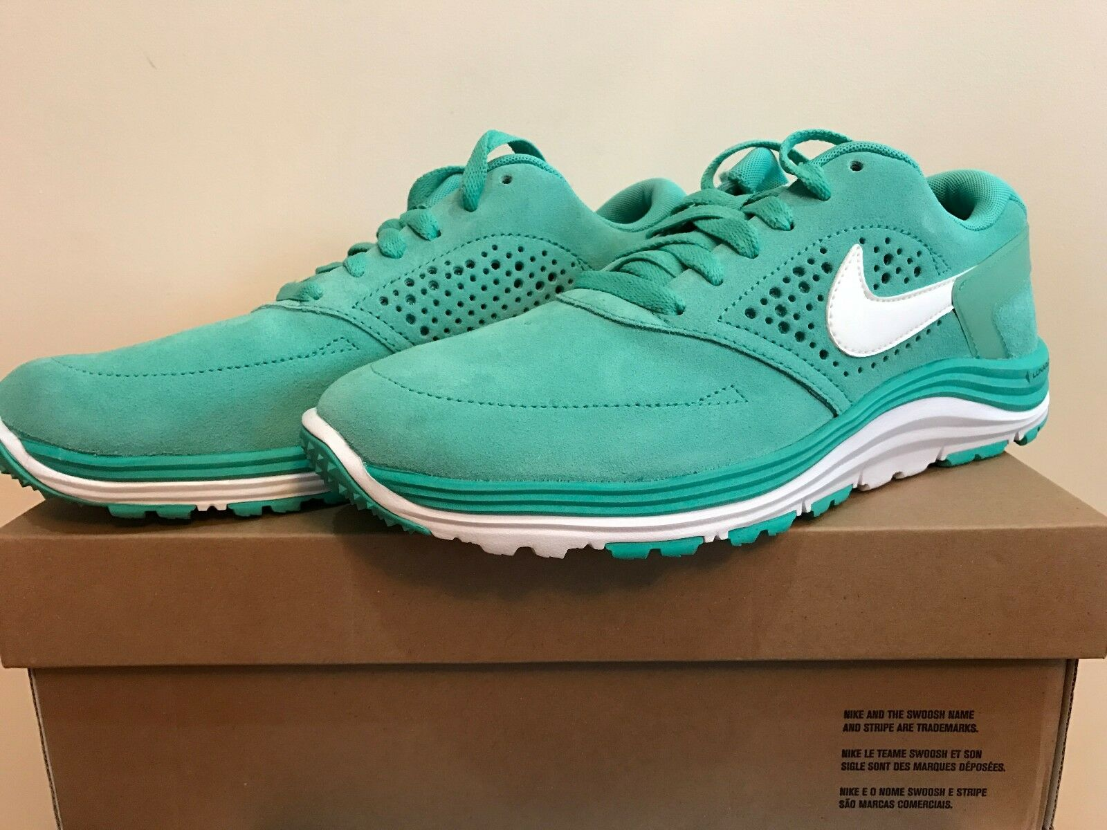Nike lunar rod mint / white dimensioni dimensioni dimensioni 7,5 a pattinare scarpa a8c9de