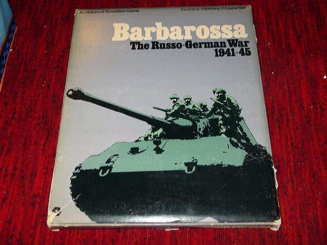 Spi-BARBAROSSA-The Russo-Allemand guerre 1941-45 - 1972 RARE BOX EDT (50% UNP)